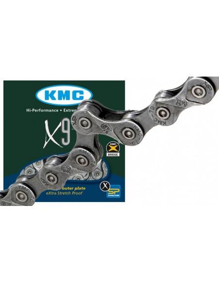 Lant KMC X9.73 1/2X11/128 9 Viteze 116 Zale + Za Rapida