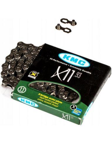 Lant KMC X11-93 1/2X11/128 11 Viteze 114 Zale + Za Rapida