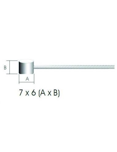 Cablu Frana Inoxidabil Syncromate BSP0761, 2000 mm, diametru 1.5 mm