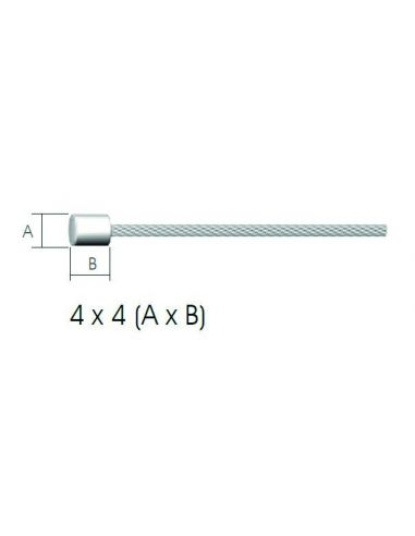 Cablu Schimbator Inoxidabil Syncromate BSP0762, 2000 mm, diametru 1.2 mm
