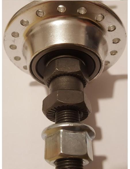 Butuc Roata Spate MTB, otel, cu rulmenti, 26, 3/8x180mm 3
