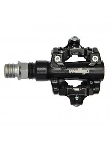 Pedale Wellgo M094B 80.6x65.3mm Negru Rulmenti