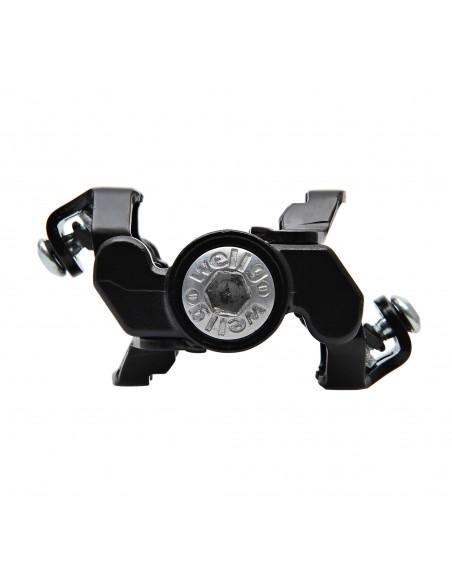 Wellgo M094B 80.6x65.3mm Negru Rulmenti