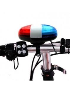 Claxon bicicleta Blade JY-155, 2 Baterii AA, 6 Led-uri + 4 Sunete