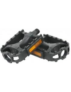 Pedale Plastic ESO - Negre