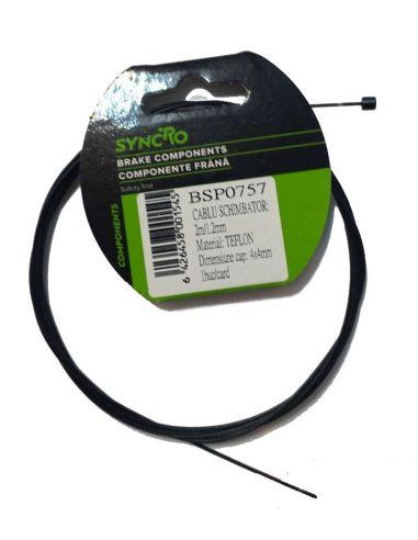Cablu Schimbator Inoxidabil Teflonat...