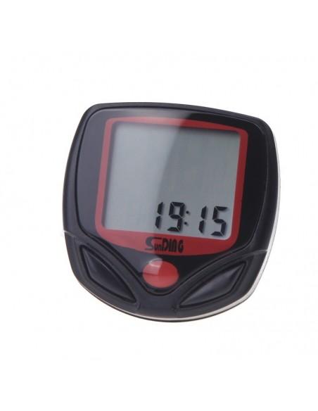 ceas vitezometru Sunding SB-318 Cu Fir LCD Backlight 15 Functii