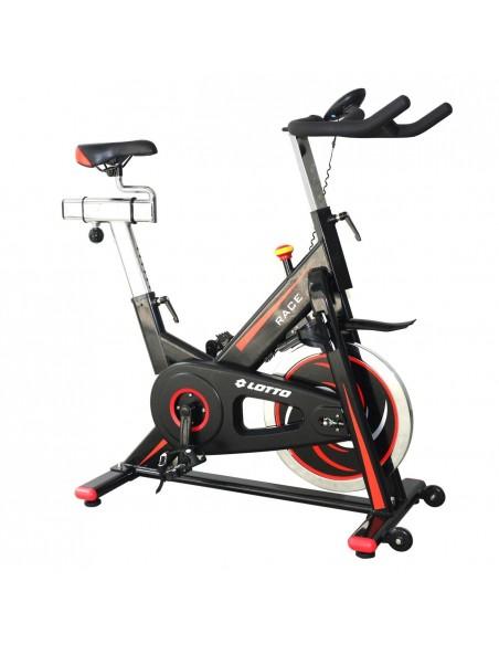 Bicicleta Spinning Magnetica Lotto Race Rezistenta Reglabila Volanta 18kg