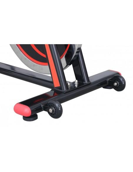 picior fata Bicicleta Spinning Magnetica Lotto Race Rezistenta Reglabila Volanta 18kg