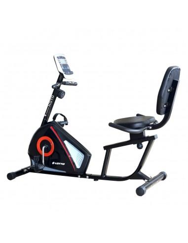 Bicicleta Fitness Recumbent Magnetica Lotto Noto Trepte Dificultate 8 Volanta 5Kg