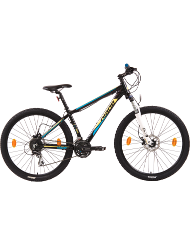 "Bicicleta MTB Blade Fun 27.5"" Cadru Aluminiu Discuri Frana Fata + Spate Jante Duble Shimano Acera"