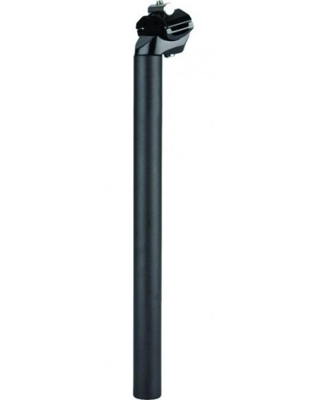 Tija Sa Cu Diametru 31.6 mm Din AL 6061 + Cap Aliaj , Lungime 400 mm, Neagra