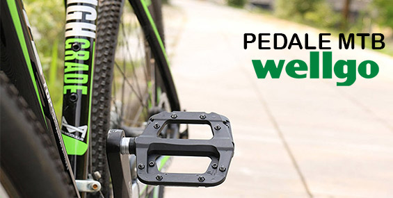 Pedale bicicleta Wellgo